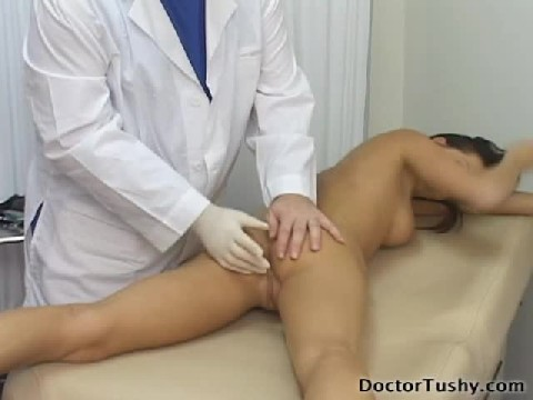 doctor offers an anal exam